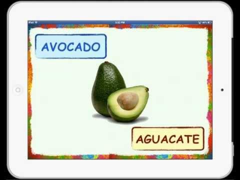 Fruits Vocabulary English-Spanish