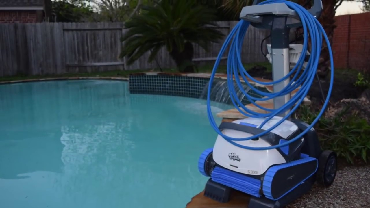 Quick Pool Reinigen Maytronics Dolphin S300i Pool Robot Automatic Cleaner