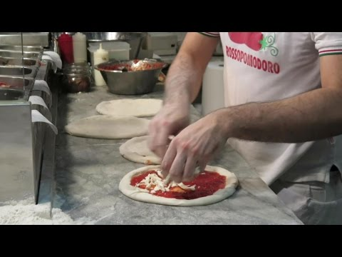 Making and Cooking a Perfect Italian Pizza, Naples Style.