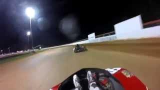 Flat Kart At Coleridge Speedway Jr. Sportsman 2 Final #2