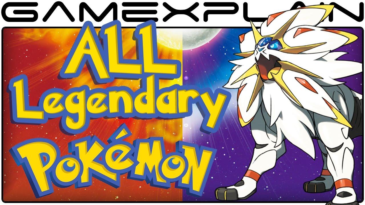 all legendary pokémon locations in pokémon sun & moon (guide