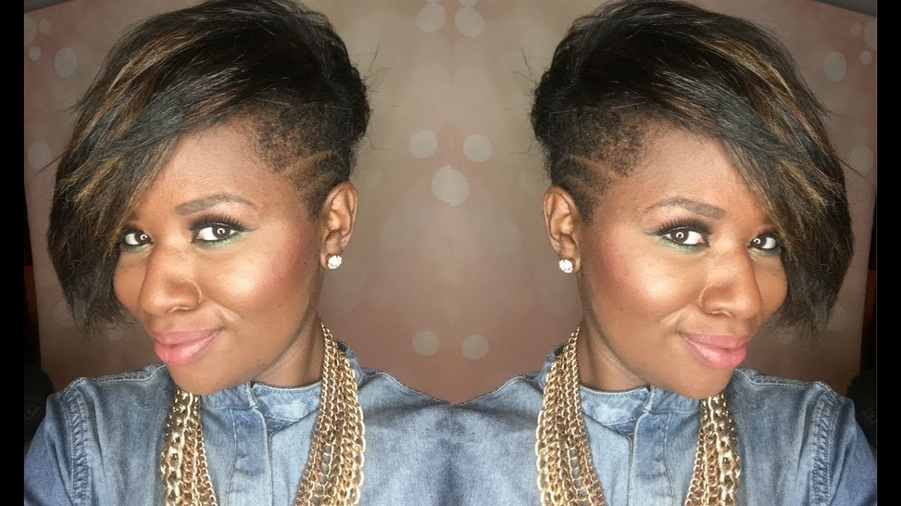 Natural Hair Tapered Haircut With Shaved Sides Beautylynk