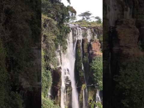 Kayo waterfall, Upemba National Park