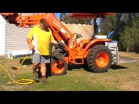 How To Clean The Air Filter On A Kubota L3800