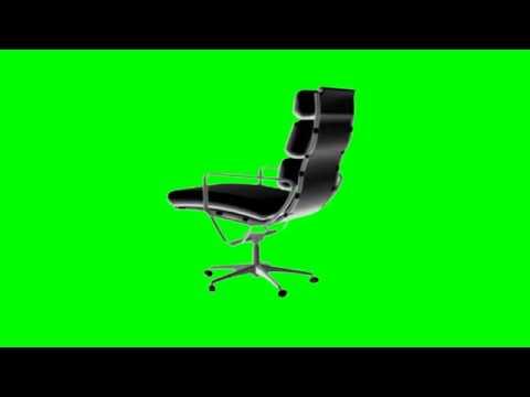 Orignal Office Chair Green Screen