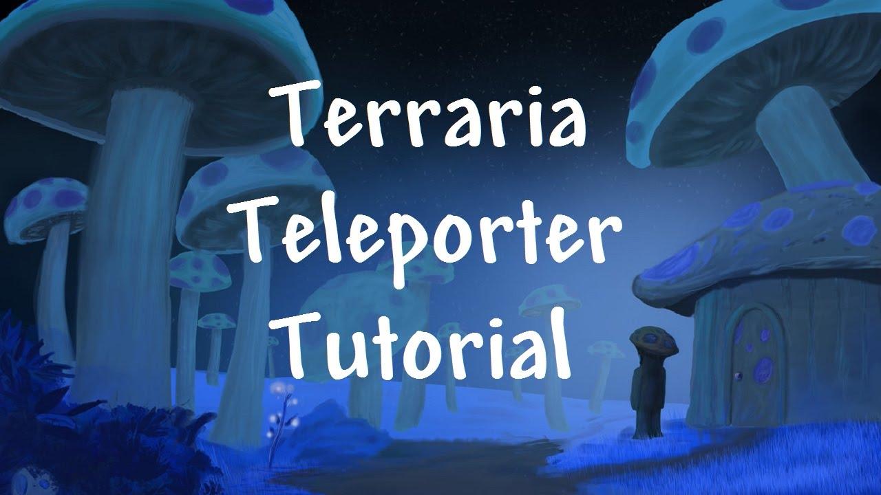 Terraria 12 Teleporter Tutorial Youtube Wiring Timer