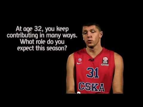 Pre-season interviews: Victor Khryapa, CSKA Moscow