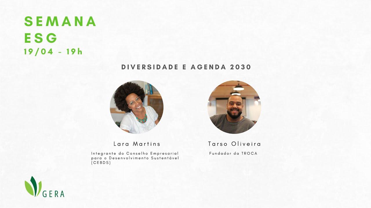 ESG - Diversidade e Agenda 2030