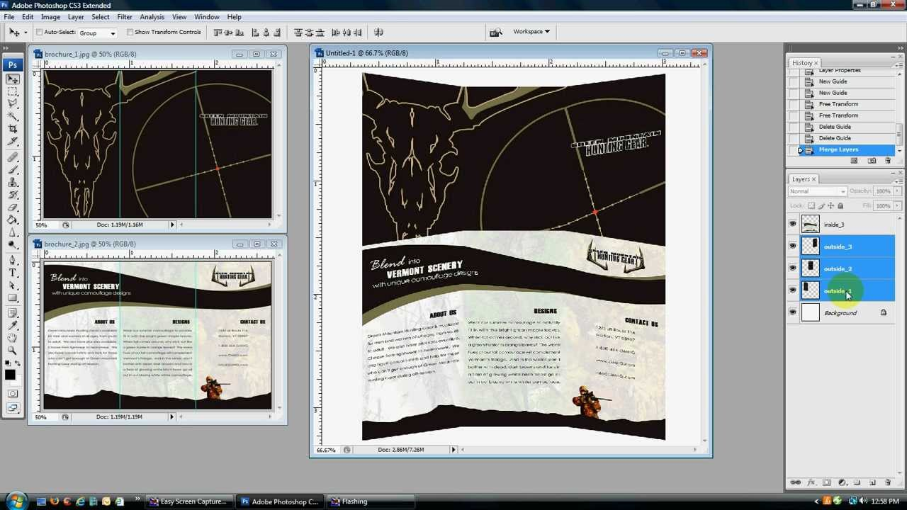 How to create a 3d brochure youtube for 3d building creator
