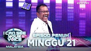 [FULL] I Can See Your Voice Malaysia (Musim 3) Minggu 21 - Datuk Nash | #ICSYVMY