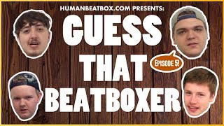 Game: Guess That Beatboxer // D-Low & Sel vs. Epos & Frosty