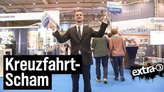 Schlegl in Aktion: Kreuzfahrtmesse in Hamburg