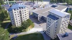 Vaasan keskussairaalan Hietalahden alueen vanhat talot