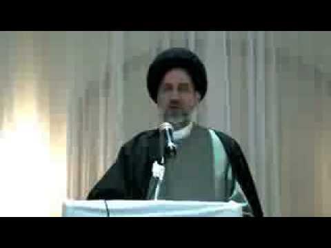 Imam Ali Masjid -Ottawa - Ayatollah Hosseini Nassab