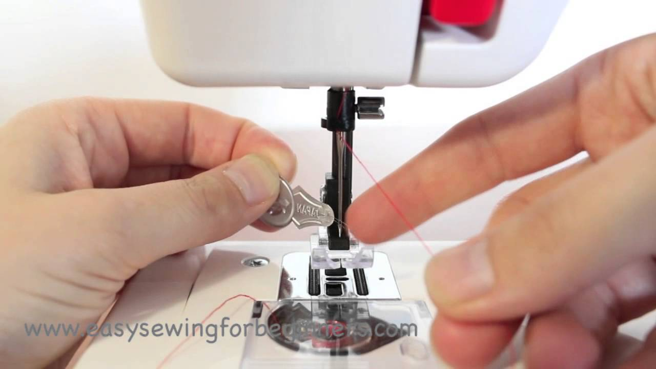 setting up your elna mini or janome sew mini threading the top part rh youtube com Elna TSP Sewing Machine Manual Elna Sewing Machine Instruction Manual