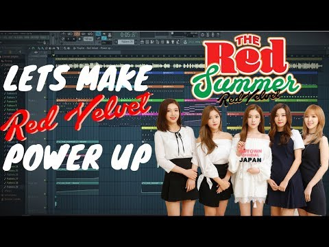 Let's Make The Beat From Red Velvet - Power Up