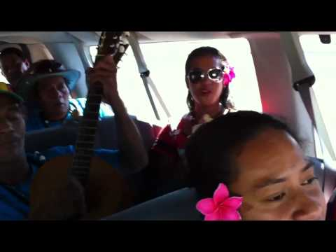 Pa Laumilo from Tuvalu: Singing in the van