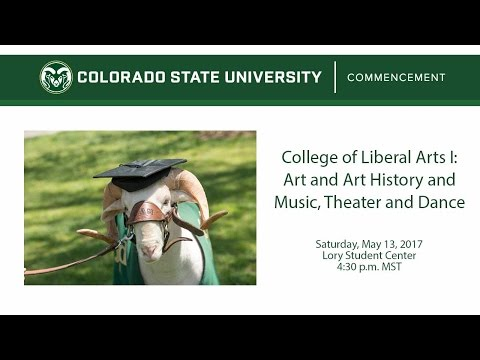 College of Liberal Arts I - Art, Music, Theater, and Dance - Colorado State University