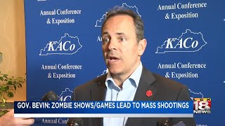 Gov. Bevin: Zombie Shows/ Games Lead To Mass Shootings