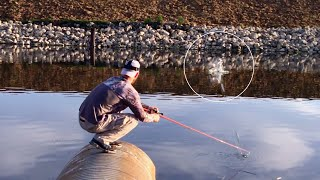 Bass Fishing the Spillway 3 Days in a Row (Waiting for the Gates to Open)