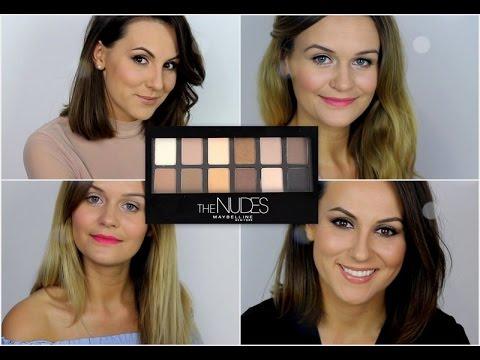 The Nudes Palette - 12 makijaży 1 paleta, cz. 1