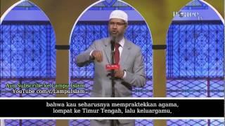 Pengusaha Hindu Mengamuk di Acara Dr. Zakir Naik Sub Indonesia HD