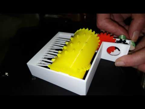 3D printed music box