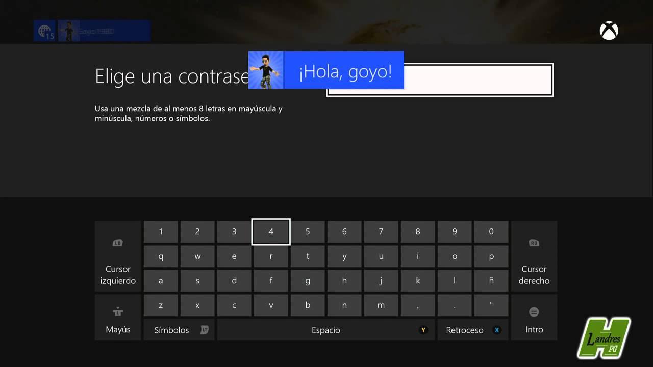 Xbox One Como Crea Un Nuevo Perfil De Adulto