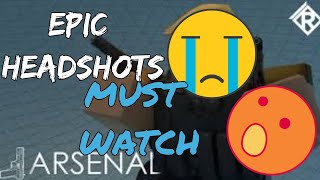 HOW A PRO PLAYS?? ROBLOX ARSENAL