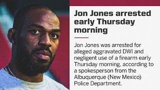 🤼♂️UFC Breaking News Jon Jones Arrested on DWI Suspicion🤦🏿♂️Will He Ever Learn??