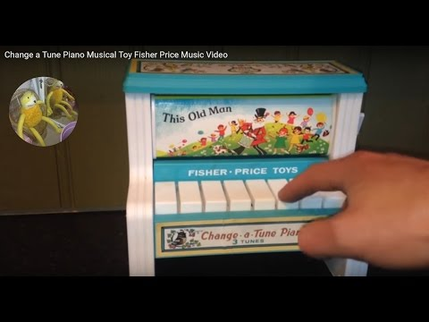 Change a Tune Piano Musical Toy Fisher Price Music Video