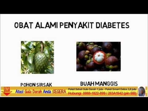 makanan penyebab diabetes dan obat untuk penderita penyakit gula darah
