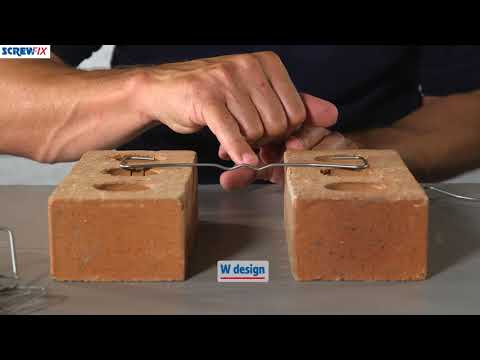 Sabrefix Wall Ties 200mm For 50-75mm Cavity | Screwfix