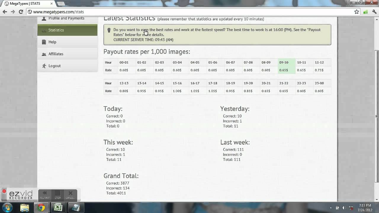 How to register and work in megatypers youtube how to register and work in megatypers stopboris Choice Image