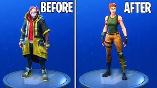 How to wear NO SKIN or BACK BLING in Fortnite Season 5! (Fortnite: Battle Royale)