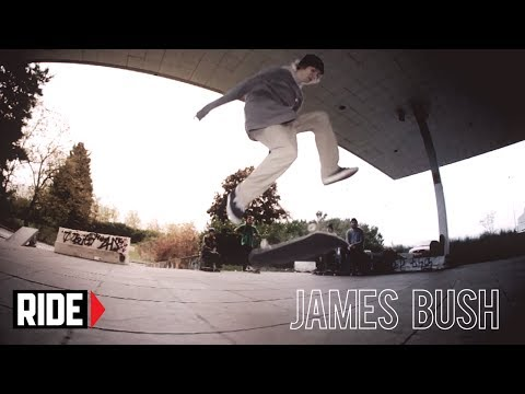 James Bush Mindblowing Flatground Tricks