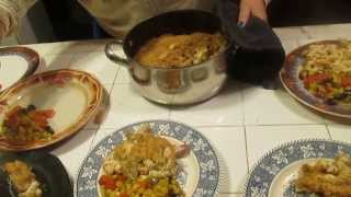 Tricolor Mac & Cheese Hot Dog Plus A Vegetable Medley Dinner Quick And Easty To Do