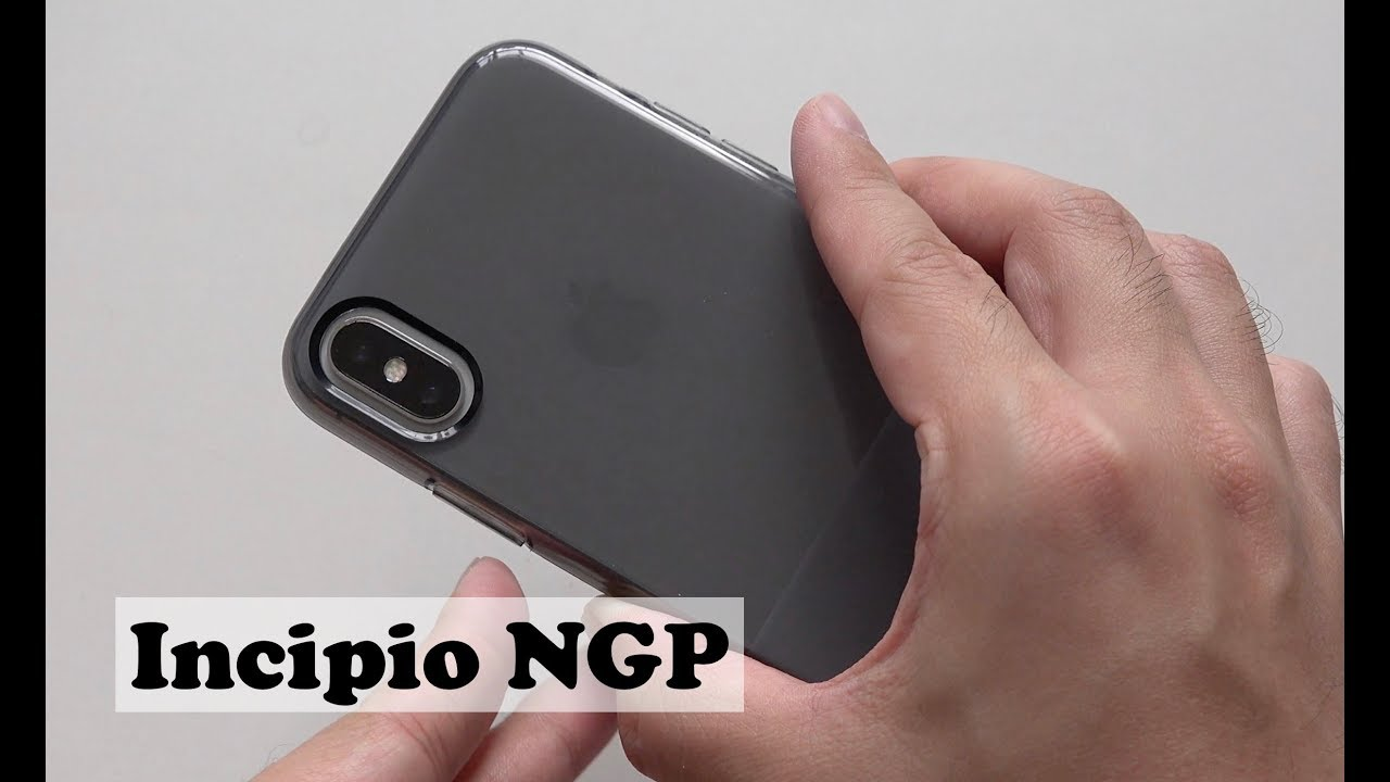 half off 5cfd9 e677f Incipio NGP Translucent Case for iPhone XS and iPhone X