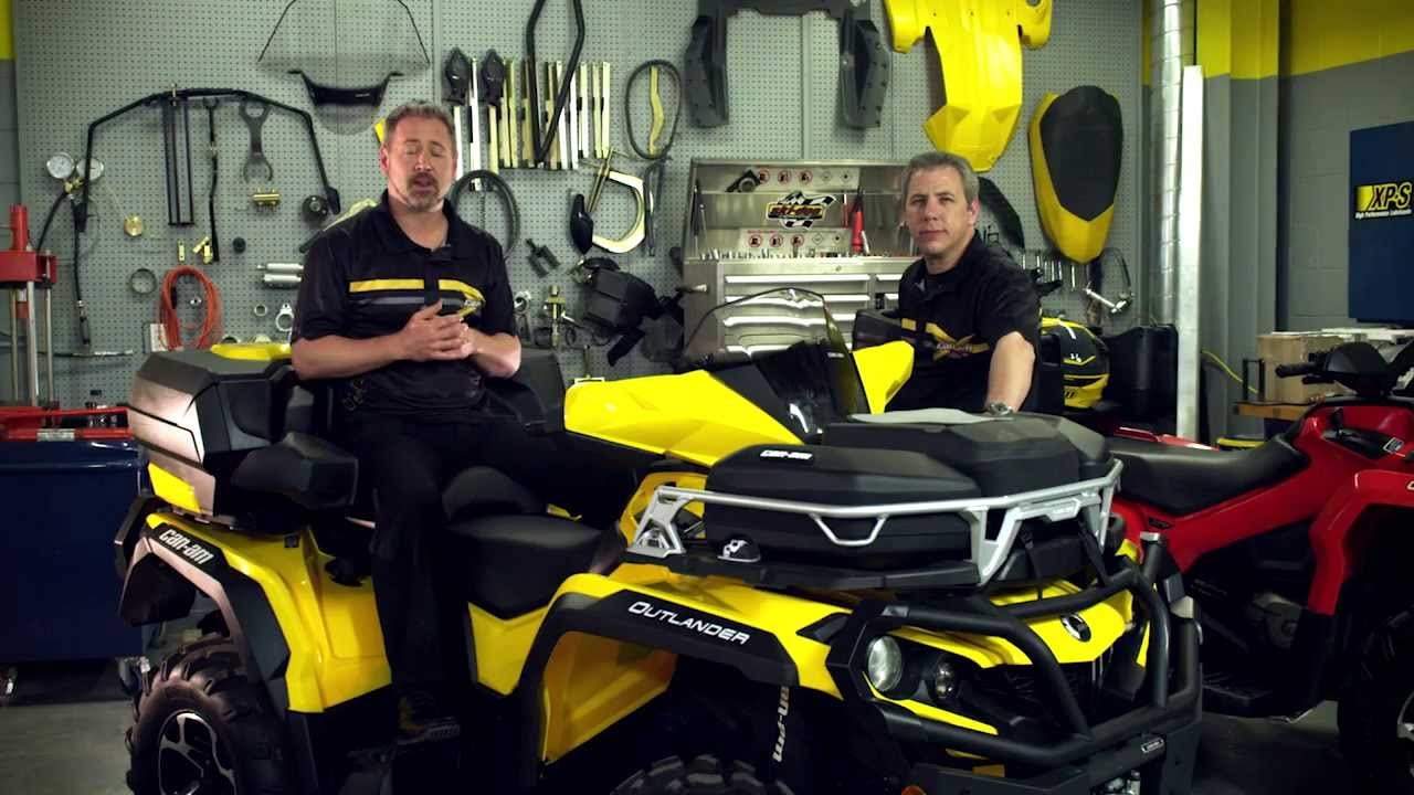 Can Am Off Road Atv Trunk Box Youtube