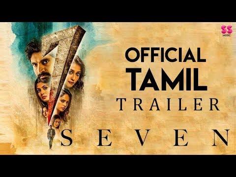 7 (Seven) - Tamil Trailer   Rahman, Havish, Regina, Tridha   Nizar Shafi   Chaitan Bharadwaj