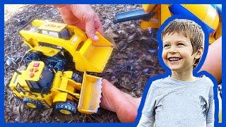 Toy Trucks For Children Make An Acorn Road