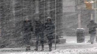 NYC Blizzard Of 2010- Manhattan, NY February 10th [HD]