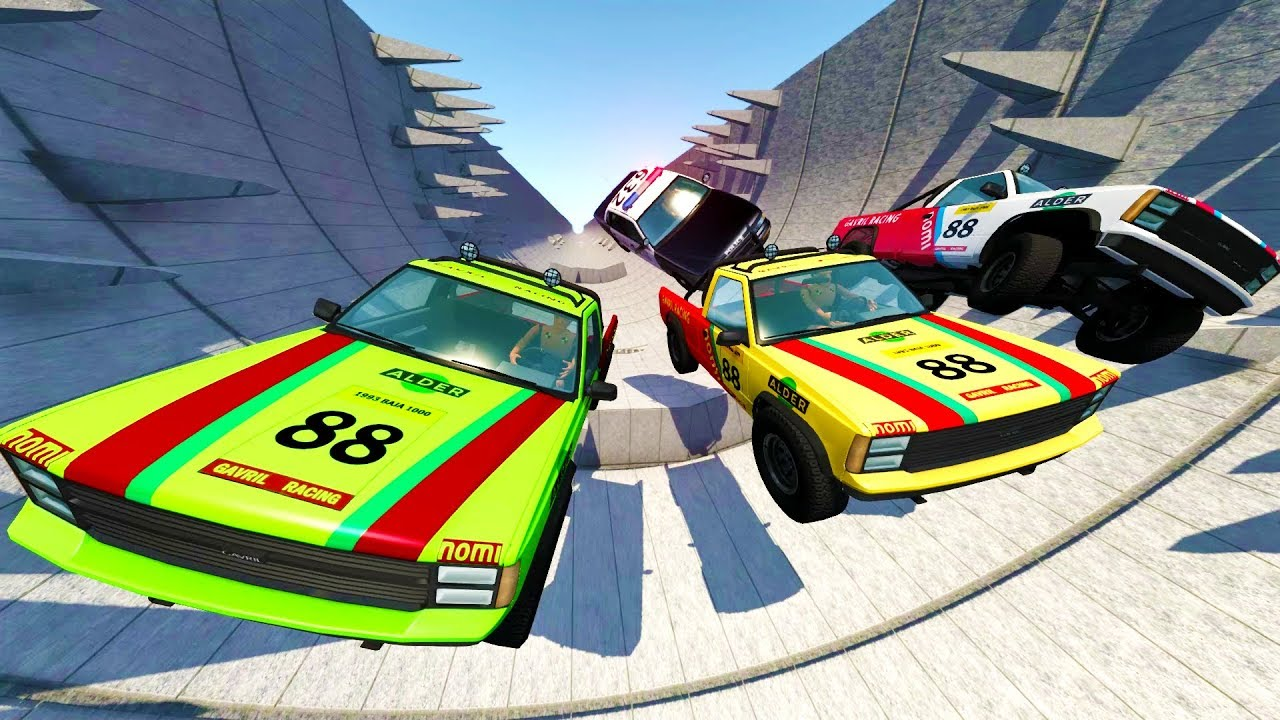 High Speed Car Survival Crash Course Beamng Drive Crash Test Compilation