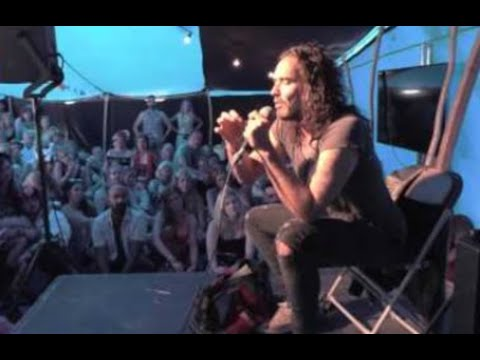 Russell Brand Live in Shoreditch, London 03rd June 2015