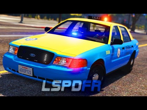 LSPDFR - Undercover Taxi Patrol! - Day 15 (Hood Cop)