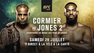 En route vers l'UFC 214 : Cormier vs Jones 2