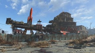 Fallout 4 Mega Base at Red Rocket Truckstop