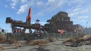 Fallout 4 Mega Base at Red Rocket Truckstop