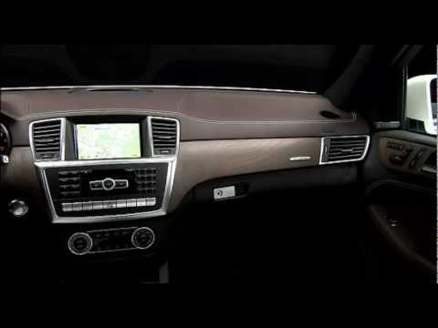 All New Mercedes M-Class ML 350 2012 Interior