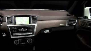 All New Mercedes M-Class ML 350 2012 Interior